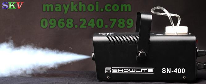 máy phun khói mini 400w, máy tạo khói cầm tay