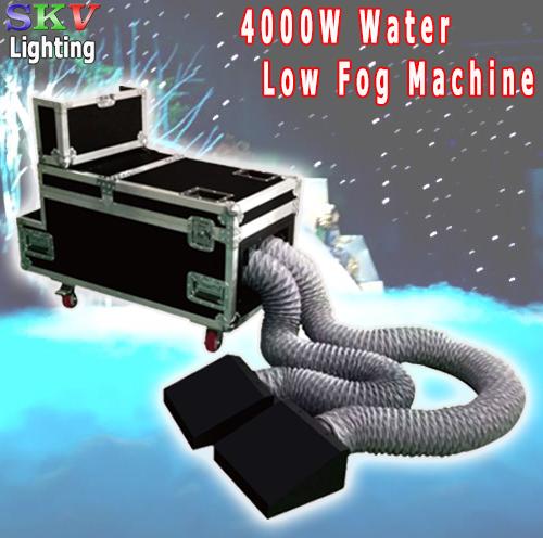máy phun khói lạnh 4000W chạy nước